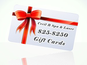 Cecil B Spa & Laser Gift Cards