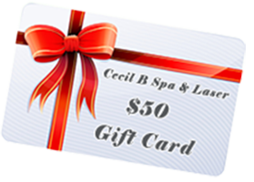 cecil b spa & laser 50 gift card