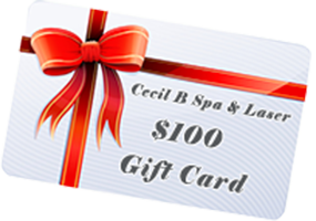 cecil b spa & laser 100 gift card