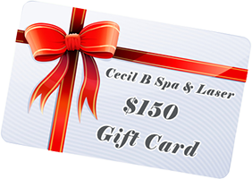 cecil b spa & laser 150 gift card