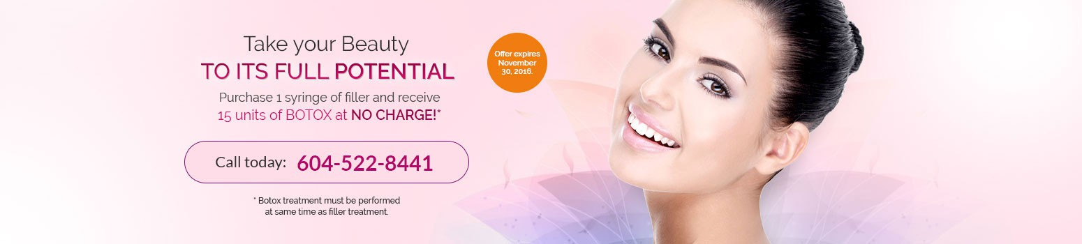 cecil b spa and laser botox and filler treatment promotion